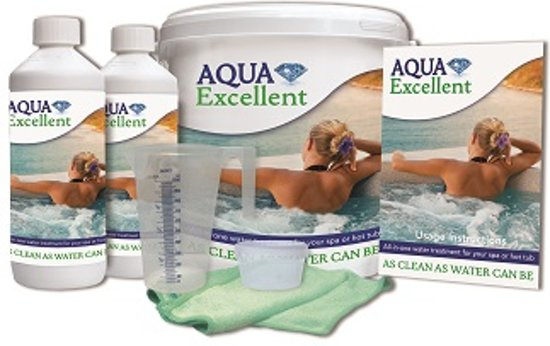 Aqua Excellent Spa en Hottub waterbehandelingset