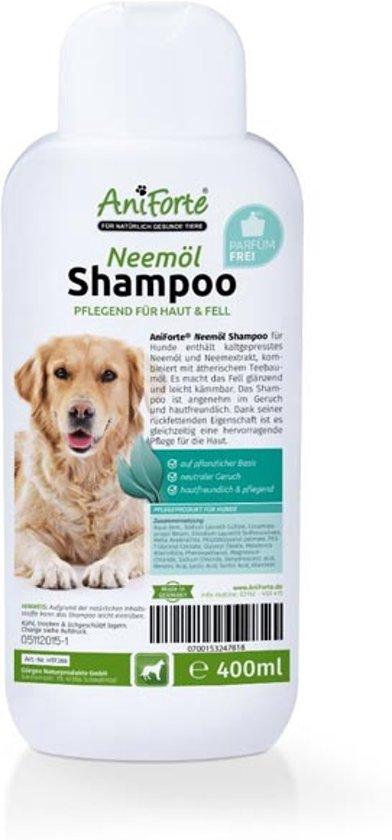 AniForte® Plantaardige Neemolie shampoo voor honden (400ml)