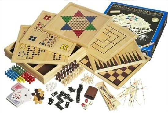 Philos houten game set Compendium 100