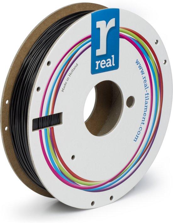 REAL Filament PETG zwart 1.75mm (500g)