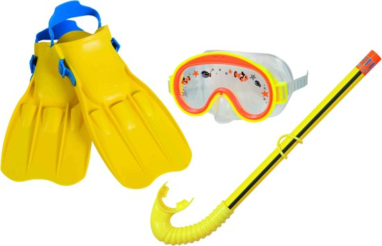 Intex - Snorkel set - 3-Delig - Geel