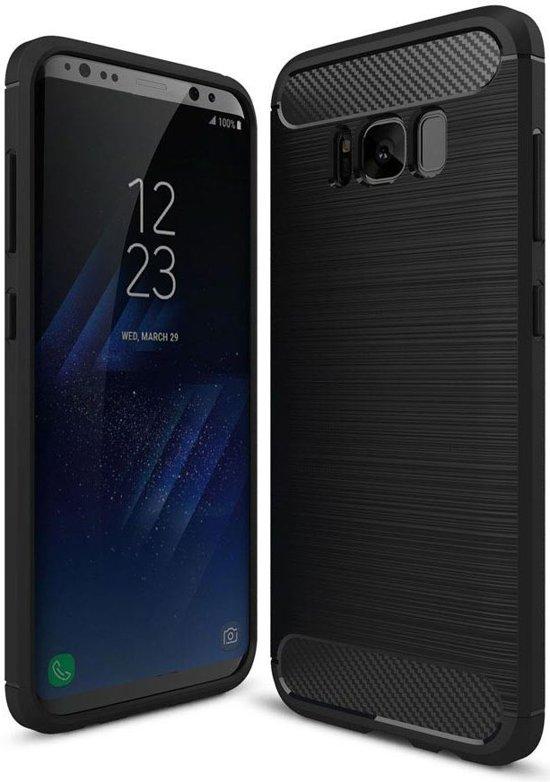 Boîtier Flip Noir Tpu Pour Samsung Galaxy S8 5689U