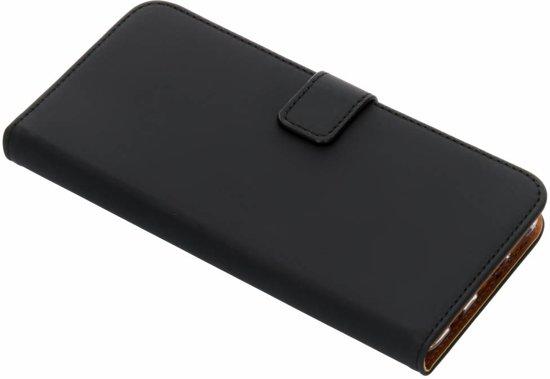Selencia Luxe Softcase Booktype voor Huawei P Smart Plus - Zwart