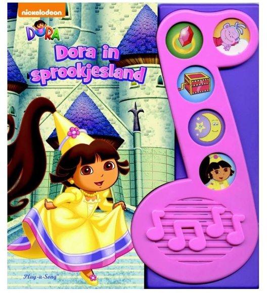 Afbeelding van Memphis Belle Peuterboek Dora In Sprookjesland speelgoed