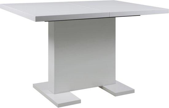 Hoogglans Witte Tafel : Bol designs uitschuifbare tafel ensar l b x