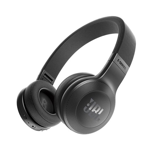 JBL E45BT - Draadloze on-ear koptelefoon - Zwart