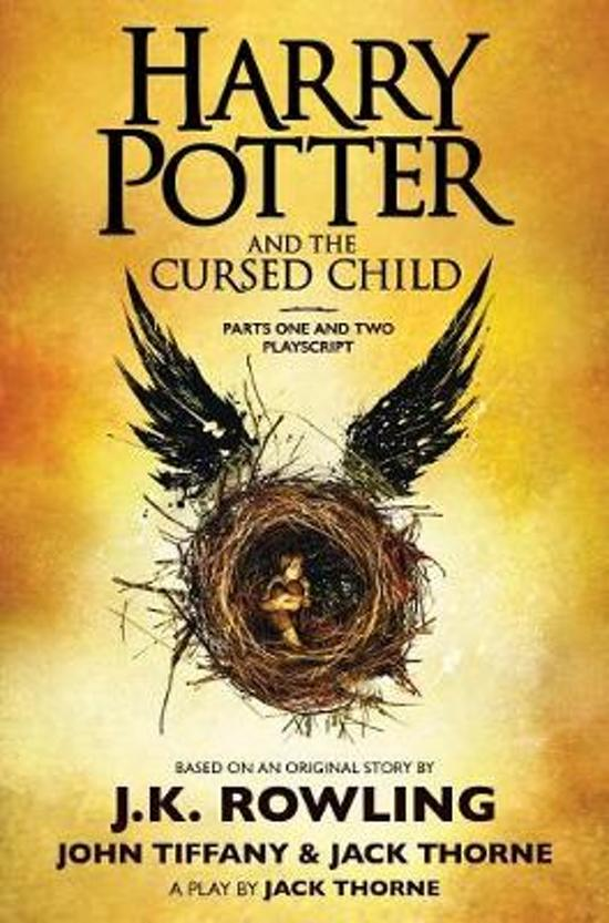 Boek cover HARRY POTTER & CURSED CHILD PLAYSCRIPT van J.K. Rowling (Hardcover)