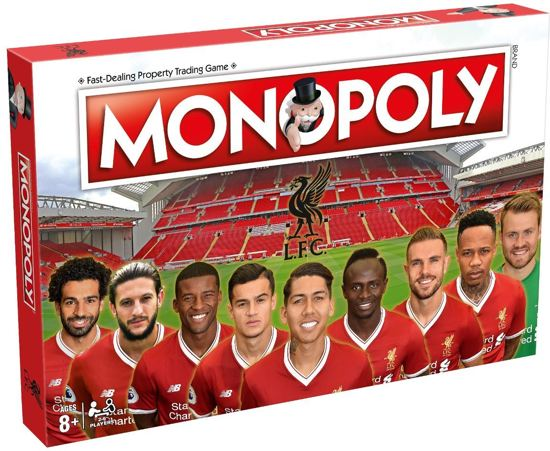 Monopoly Liverpool F.C.- Engelstalig Bordspel