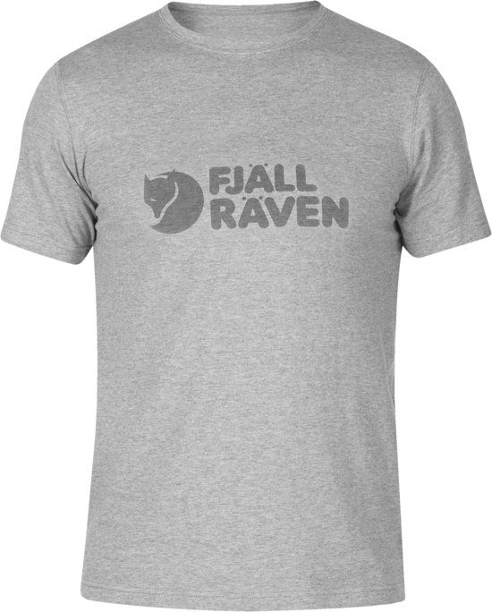 Shirt T M Heren Grey Fjällräven Logo 6EqOwxY