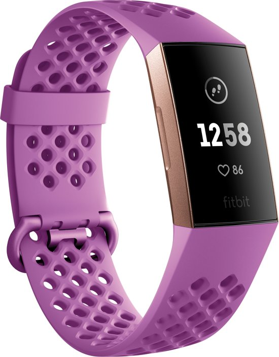 Fitbit Charge 3 - Activity tracker - Roségoud