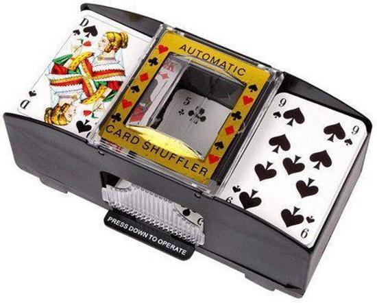 Afbeelding van Speelkaarten schudmachine op batterijen speelgoed