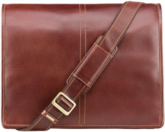 afb3e98de09 bol.com | Visconti Aldo Messenger Bag Vintage Tan