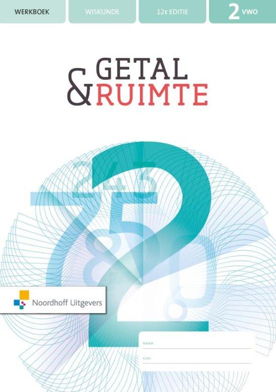 Getal & Ruimte 12 editie 2 vwo werkboek en rekenkatern