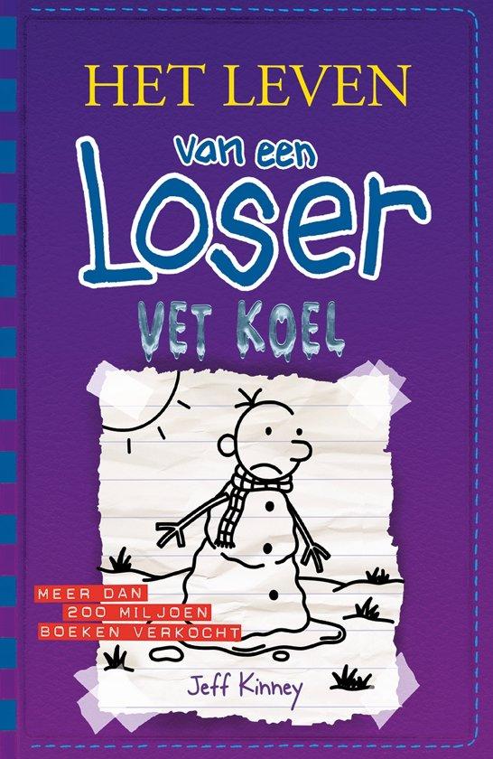 Boek cover Het leven van een Loser - Vet koel van Jeff Kinney (Hardcover)