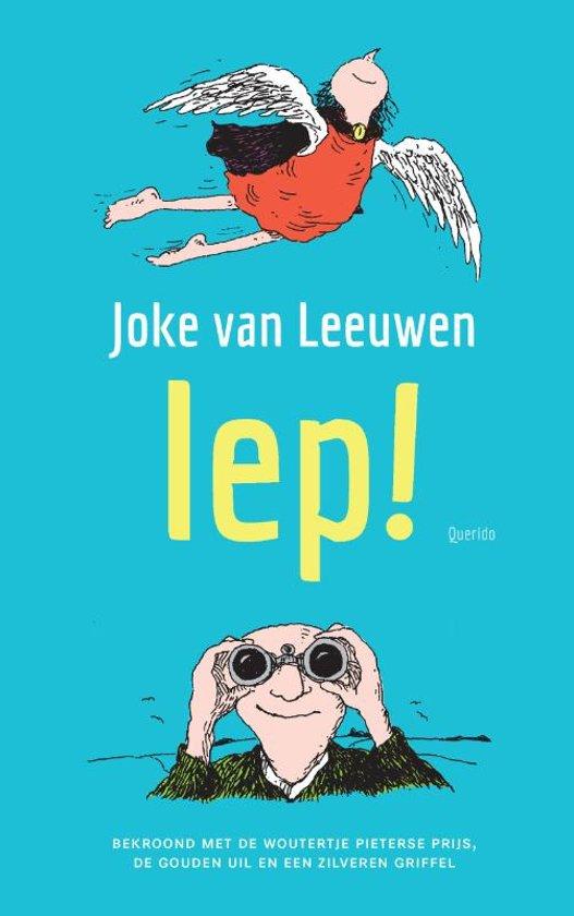 Boek cover Iep! van Joke van Leeuwen (Hardcover)