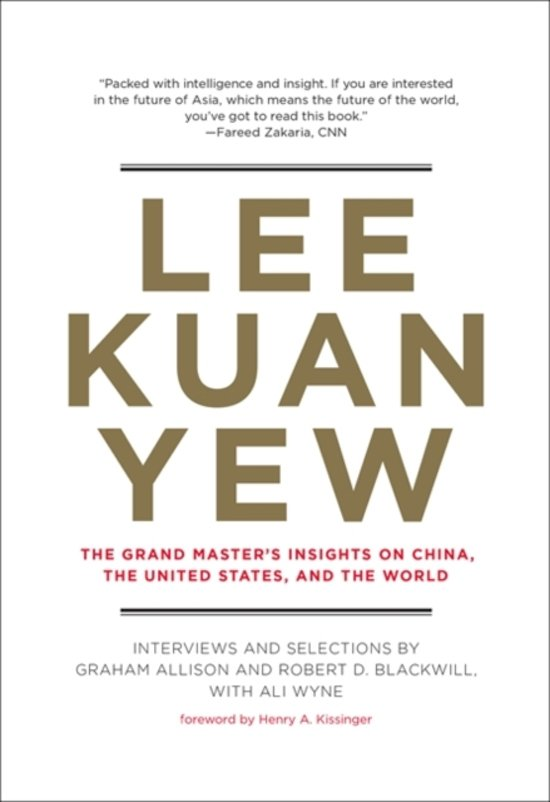 Boek cover Lee Kuan Yew van Graham Allison (Hardcover)