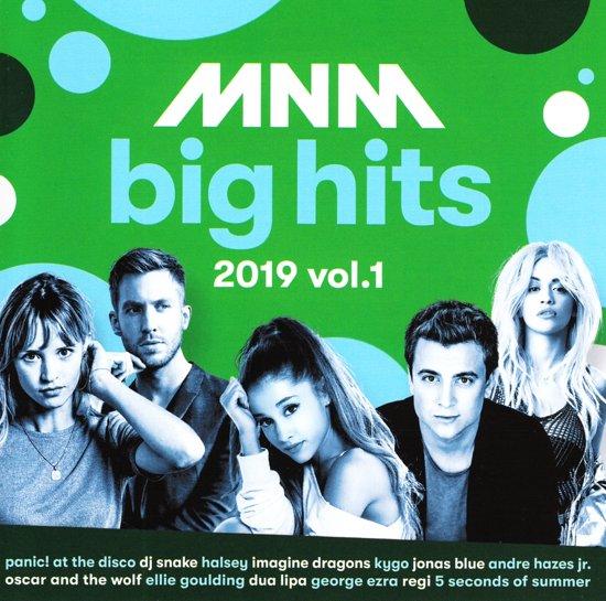 CD cover van Mnm Big Hits 2019.1 van various artists