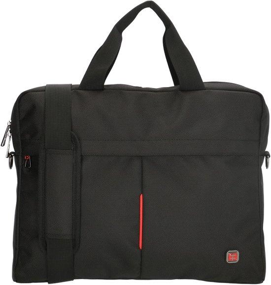 43d7e5d4f46 bol.com | Enrico Benetti Cornell 47183 Laptoptas - Black