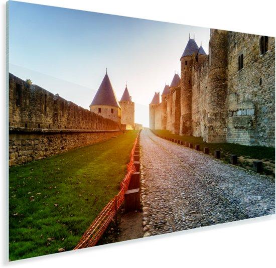 Kathedraal Saint Michel in het Franse Carcassonne Plexiglas 30x20 cm - klein - Foto print op Glas (Plexiglas wanddecoratie)