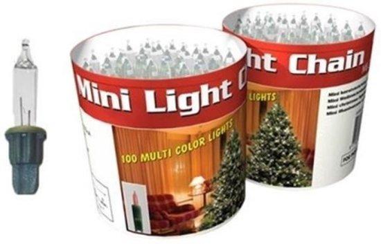 Bol Com Kerstverlichting Lichtsnoer Kleur 100 Lampjes