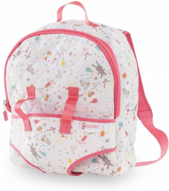 d1918a1f7fb Corolle poppen accessoires Mon 1°Baby Doll Carrier Backpack DMT32