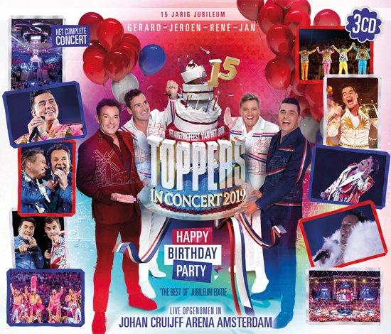 CD cover van Toppers In Concert 2019 (CD) van Toppers