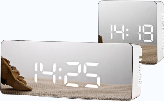 Led Digitale Klok| Wekker|Modern Desighn| Tijd|Time|