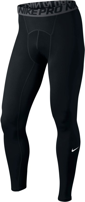 Nike Pro Tight - Sportbroek  - Heren - Zwart - Maat L