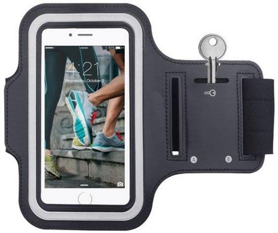 Hardloop Sportarmband voor iPhone 5 / iPhone 5C / iPhone 5S geschikt voor koptelefoon - Goede telefoonbediening
