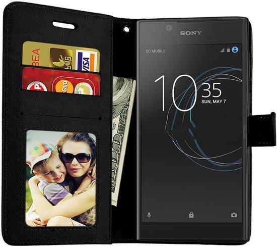 Sony Xperia XZ2 Compact Portemonnee hoesje / book case Zwart