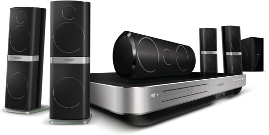 Philips HTS8562 - 5.1 home cinema set