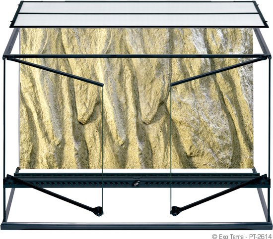 Exo Terra Terrarium  - Transparant - 90 x 45 x 60cm