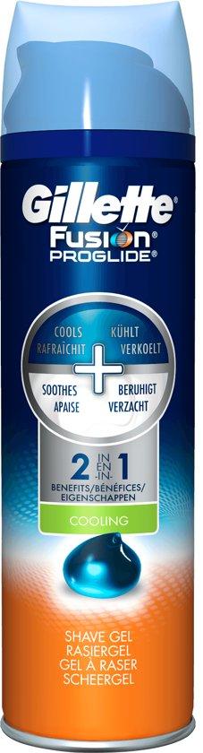 Gillette Fusion - Verkoelende Scheergel - 200 ml
