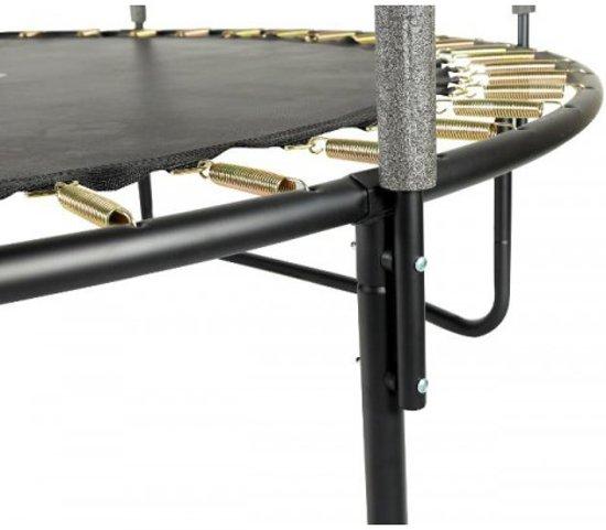 SPRING Trampoline 213 cm (7ft) met veiligheidsnet - Black Edition - zwarte rand