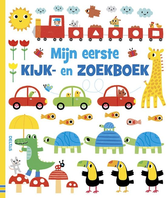 Deltas Prentenboek Mijn Eerste Kijk- En Zoekboek 26 Cm