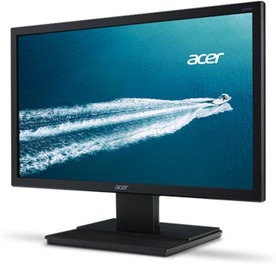 V226HQLBbd - 21.5i LED - 5ms - 100M:1 ACM - 200nits - DVI - EURO/UK EMEA MPRII - Black - Acer EcoDisplay