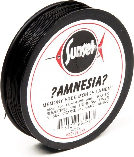 Midnight Moon Amnesia Lijn - Onderlijnmateriaal - 18.2 kg - Zwart