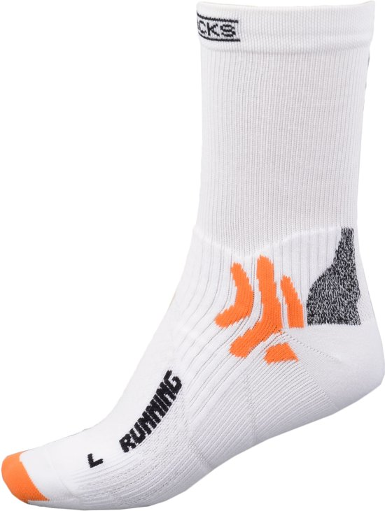 X-Socks X20253 Running Mid Calf - Sportsokken - Unisex - Maat 35-38 - Wit