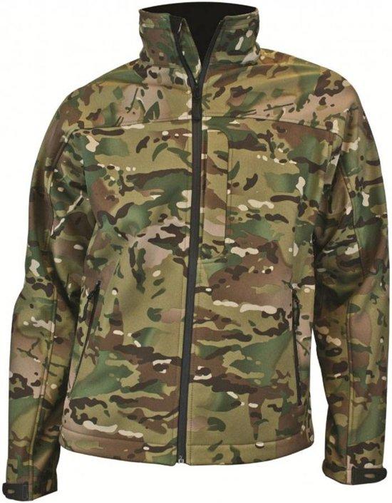 Highlander Odin - Softshell - Unisex - camouflage - XXL