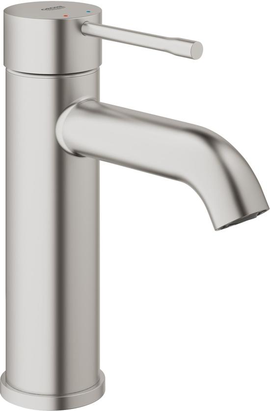 GROHE Essence New Wastafelkraan - Lage uitloop - SuperSteel (rvs)