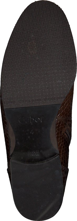 Gabor Dames Veterboots 745 - Cognac