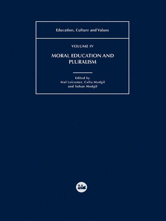 Moral Education and Pluralism