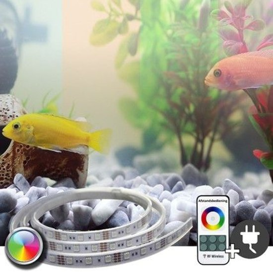 bol.com | 1,5 tot 2 meter - RGB complete set aquarium led strip