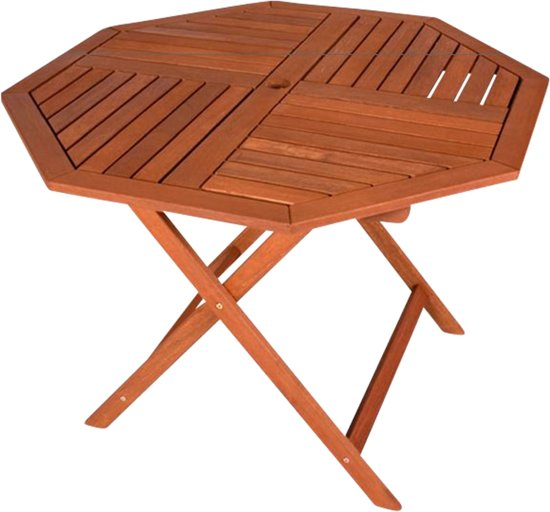 Ronde Tuintafel Hout.Tuintafel Rond Hout