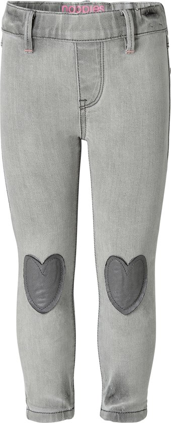 Noppies Broek Haledon - Washed Grey - Maat 128