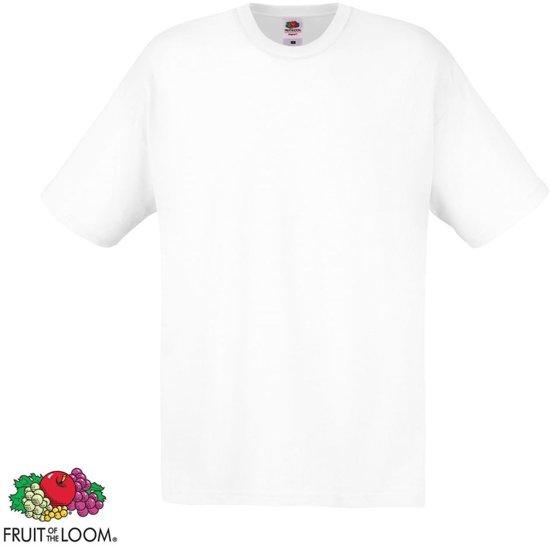 Origineel Katoen S T 20 Wit Zwart The Fruit Stuks shirt Of En Loom 3jq5AL4R