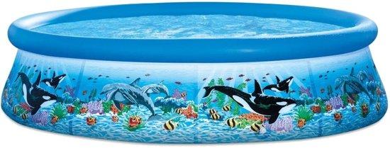 Intex Opblaaszwembad Ocean Reef Met Filter 305 X 76 Cm Blauw
