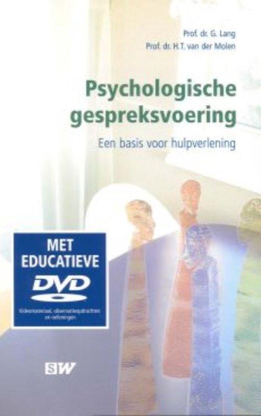 Boek cover SW-reeks - Psychologische gespreksvoering van G. Lang (Hardcover)