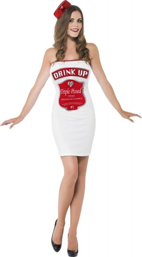 c5f215007d866a Wit dames jurkje drink up 36-38 (s). Afbeelding ...
