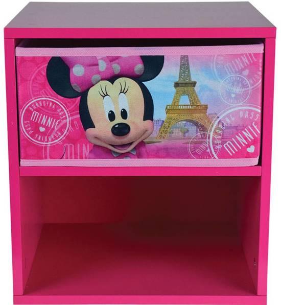 Mickey Mouse Nachtkastje.Bol Com Disney Minnie Mouse Nachtkastje Met Laadje 36 X 33 X